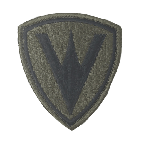 5th marine division olive patch Patches