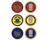 Custom 1st, 2nd, or 3rd Battalion Challenge Coin
