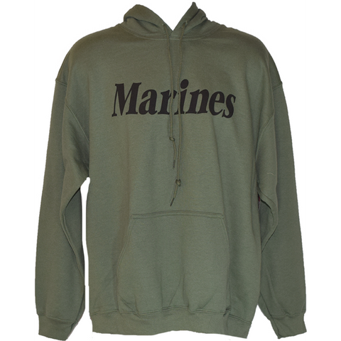 Green Marines O.D. sweatshirt