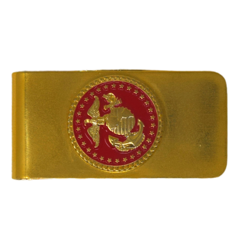 Red EGA Money Clip