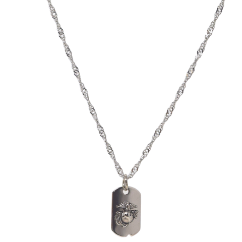 Tiny Dogtag Necklace