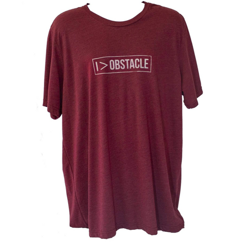 Virago Fitness: Men's I > Obstacle Tee - Maroon