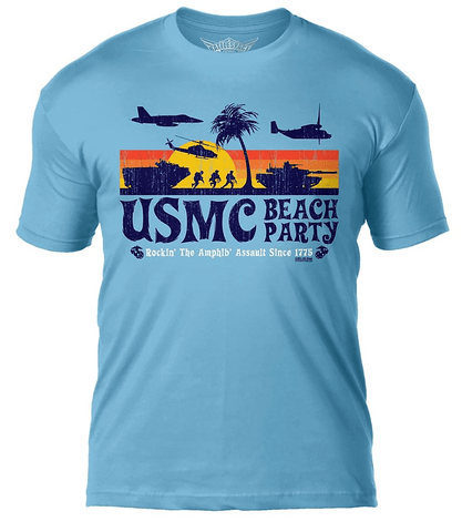 Beach Party Graphic T-Shirt T-Shirt