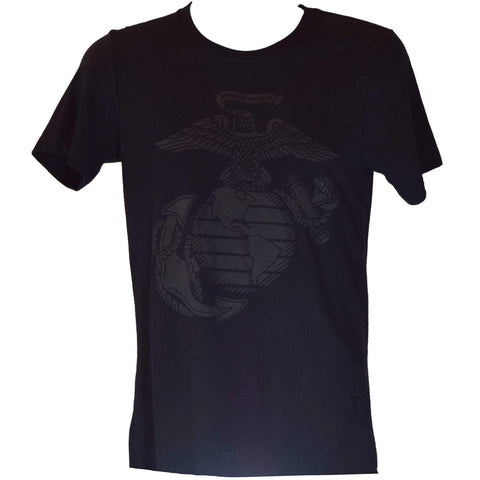 Blackout Eagle Globe & Anchor Men's T-Shirt T-Shirt