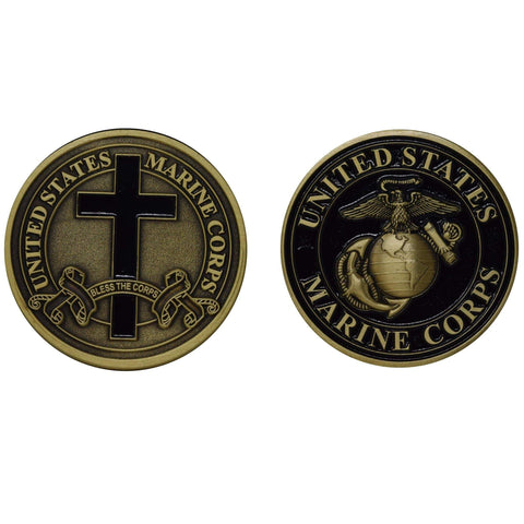 Bless The Corps Coin Challenge Coins