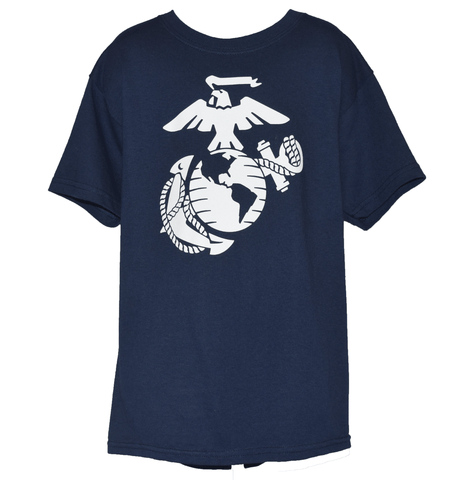 Boys Youth EGA T-shirt - Navy Youth Apparel