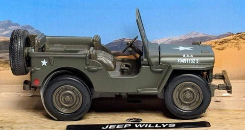 Classic Armour Jeep Willys Vehicle Toys