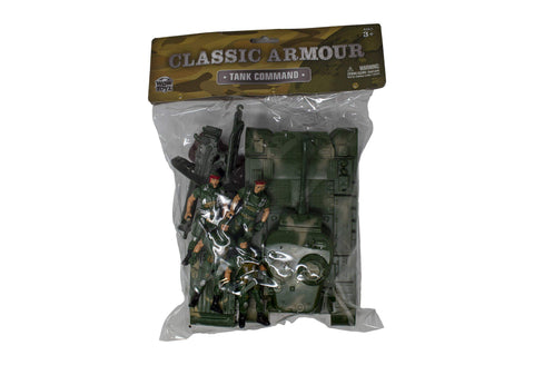 Classic Armour Tank & Soldier Toy Set Toys