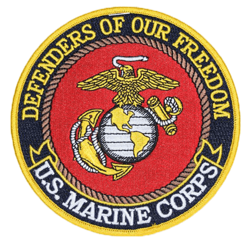 Defenders of Our Freedom  USMC Patch Patches