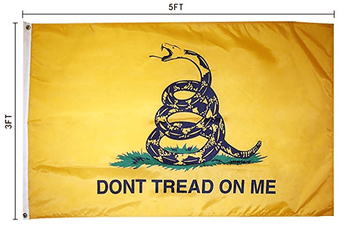 Don't Tread On Me Flag 3' x 5' Flag