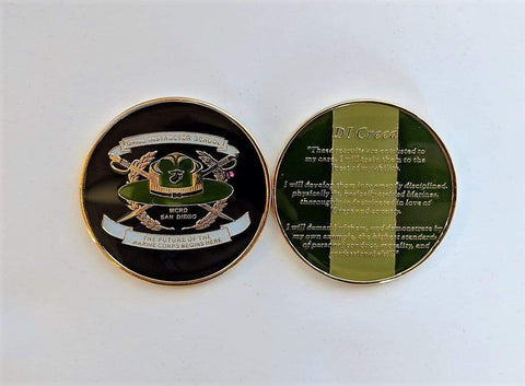 Drill Instructor Challenge Coin Challenge Coins