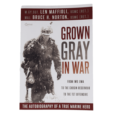 Grown Gray In War: Autobiography of a True Marine Hero by Len Maffio (Paperback) Book