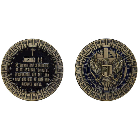 Joshua Coin Challenge Coins