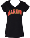 Ladies Marines V-Neck T-Shirt T-Shirt