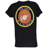 Ladies My Son Is A Marine V-Neck T-Shirt T-Shirt