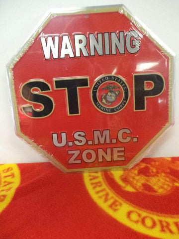Marine Corps Parking Sign: USMC Zone Signs