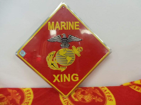Marine Crossing Sign Signs