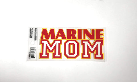 Marine Mom Bold Decal Decal