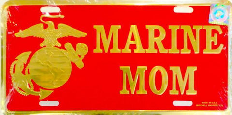 Marine Mom License Plate License Plate