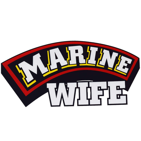 Marine Wife Decal Decal