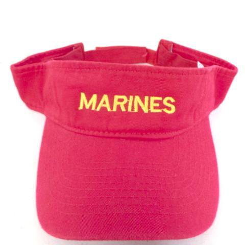 Marines Embroidered Visor Hats