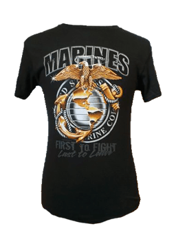Marines Globe and Anchor Graphic T-Shirt T-Shirt
