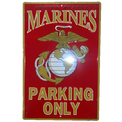 Marines Parking Only Sign large Signs