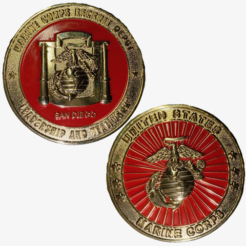 MCRD Depot Challenge Coin Challenge Coins