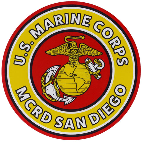 MCRD San Diego Decal Decal