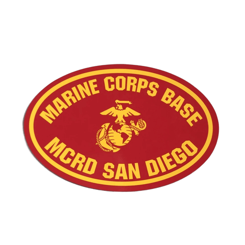 MCRD San Diego Oval Magnet Magnet