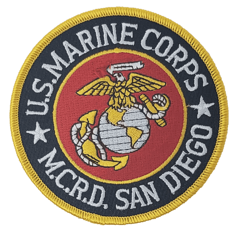 MCRD San Diego Patch Patches