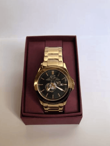 Men's Gold Watch with EGA Watches
