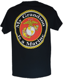 My Grandson Is A Marine T-Shirt T-Shirt