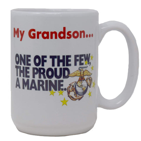 My Grandson: The Few, The Proud Mug Drinkware
