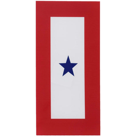 One Star Service Decal Decal