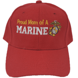 PROUD MOM OF A MARINE HAT Hats