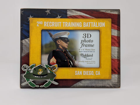 Recruit Training Battalion Picture Frame Frames