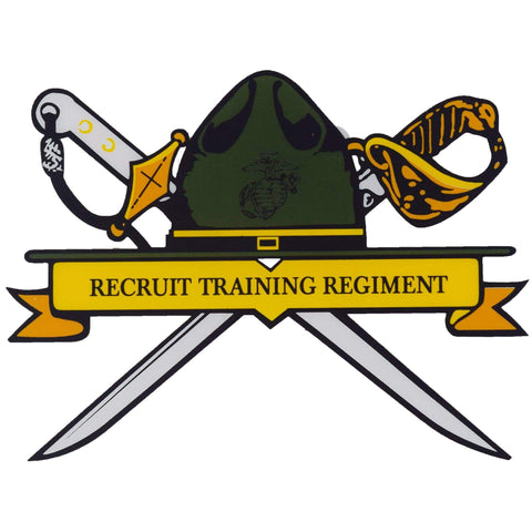 Recruit Training Regiment Decal Decal