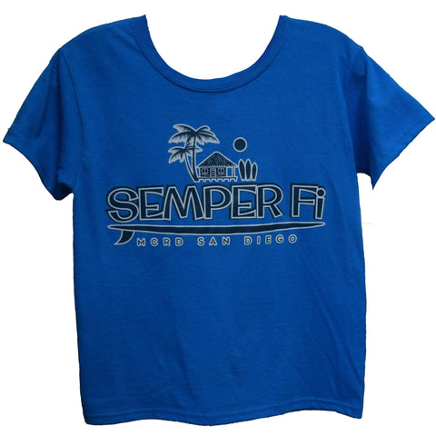 Semper Fi Surf Youth Tee T-Shirt