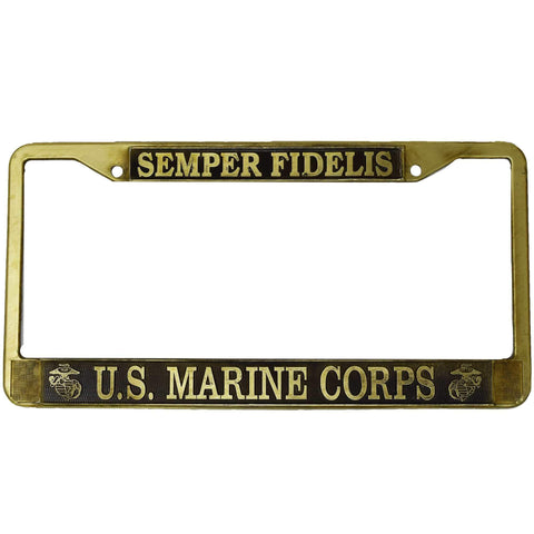 Semper Fidelis License Plate Frame License Plate