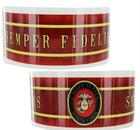 Semper Fidelis Scarlett & Got Ceramic Pet Bowl Pets