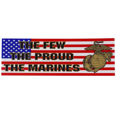 The Few The Proud Strip Decal Decal