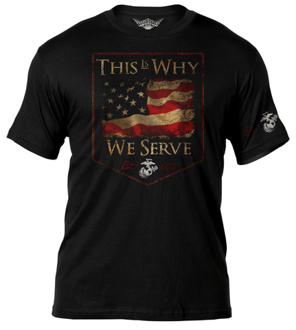 This Is Why We Serve Graphic T-Shirt T-Shirt