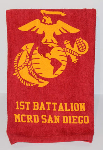 Training Battalion Towel - 1st, 2nd & 3rd Towel