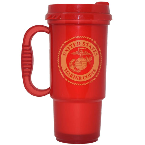 Travel Mug - Red Drinkware