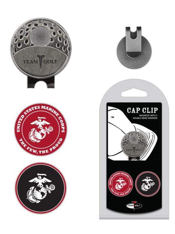 U.S. Marines Golf Cap Clip with Ball Markers Golf