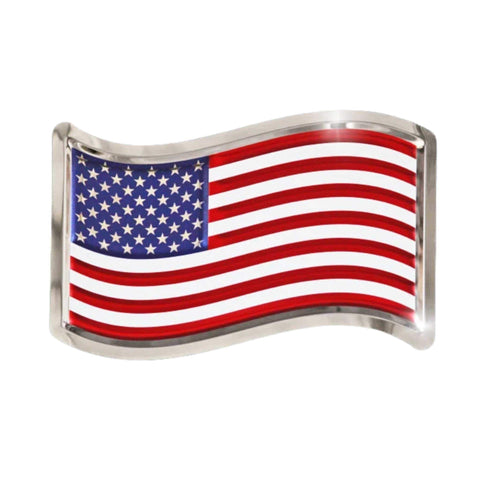 United States Flag Stainless Steel Mirror Finish Plaque