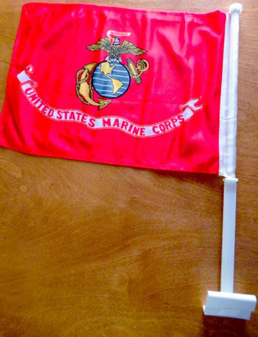United States Marine Corps Car Flag Flag