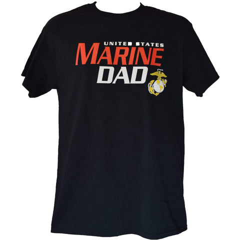 United States Marine Dad T-Shirt T-Shirt