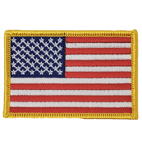USA  Flag Patch Patches